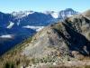 Mt Bell Ridge with Quadra & Bident Mountains