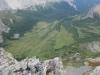 Summit shot of Redoubt Creek meadows