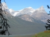 Rt Mt Chephren, White Pyramid & Mt Howse