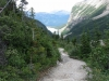 The trail to the Glacier