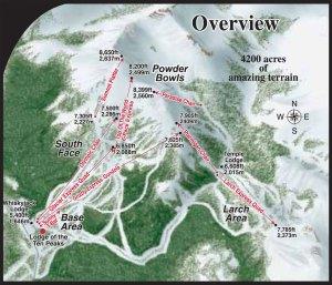 Lake Louise Ski Overview