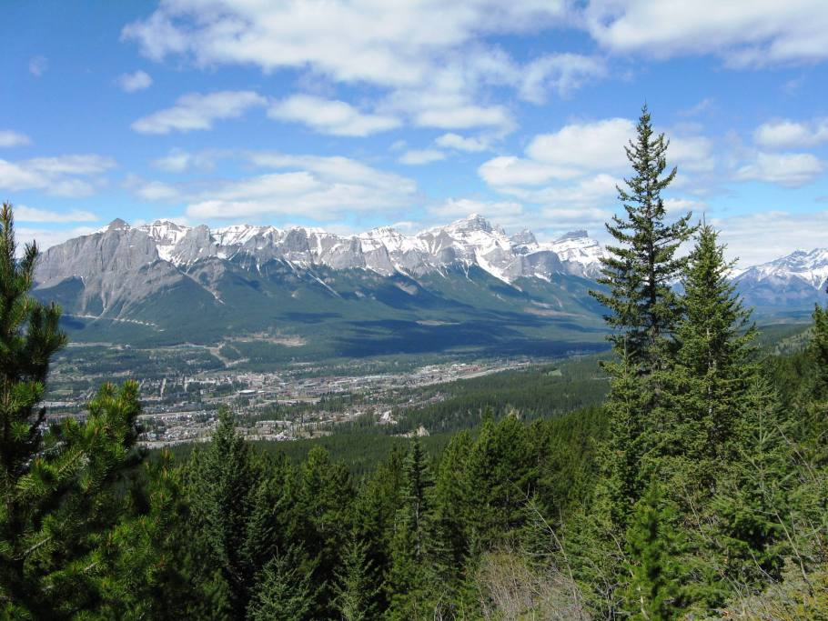Rundle Range from Midline