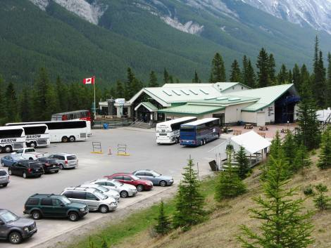 Lower Parking Lot with showing the lift station