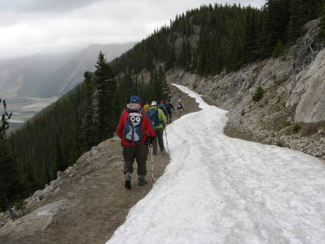 Still some snow in late May
