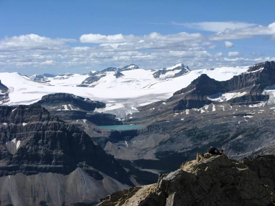 Bow Glacier,Bow Falls & Bow Lake