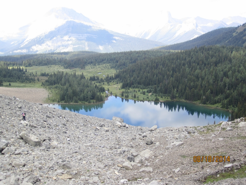 Chester Lake from above