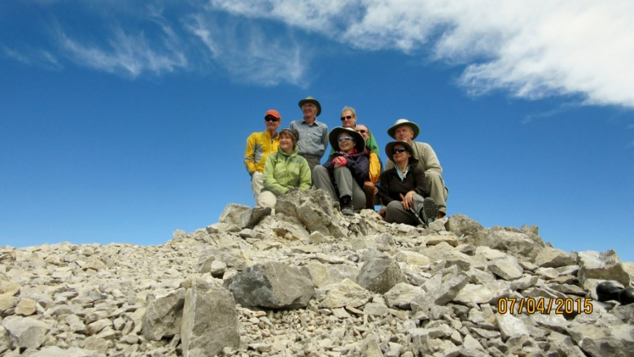 Group Pic on Summit