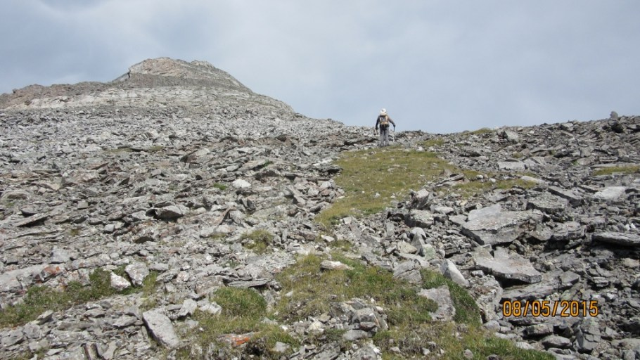 Looking for the best route to the top of the Ridge