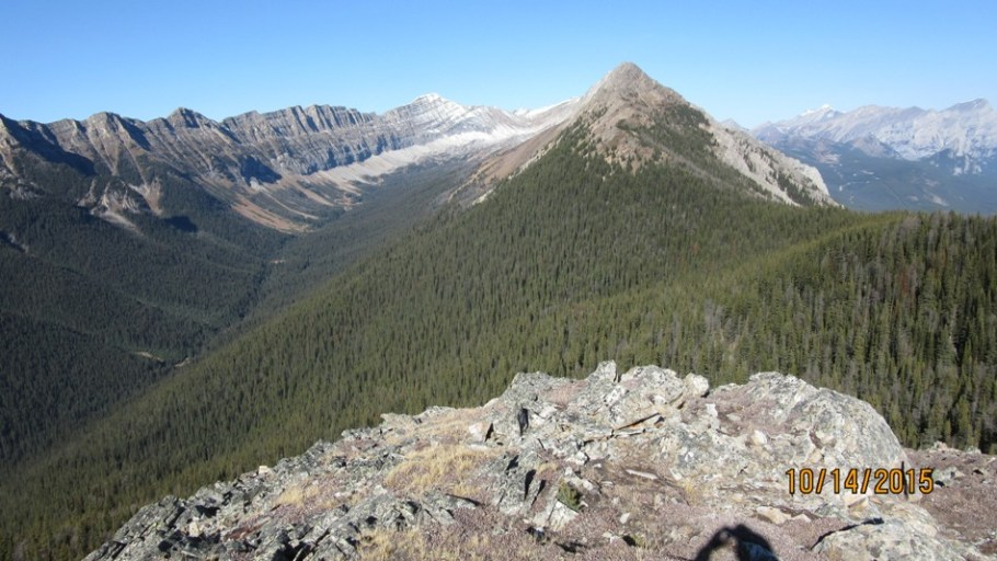 Lawson mountain and Kent Ridge