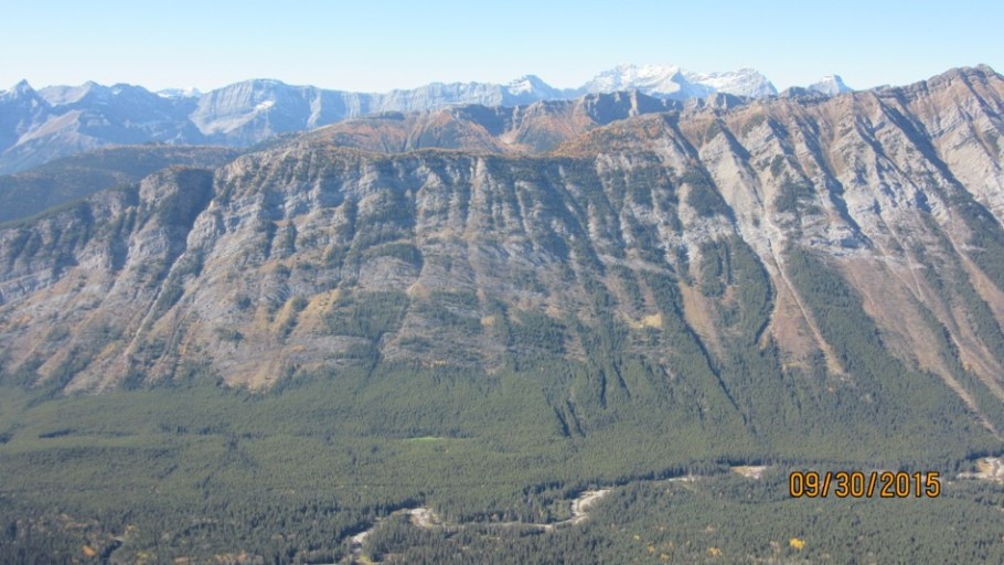 Across the valley closer Lawson Ridge and behind Kent Ridge