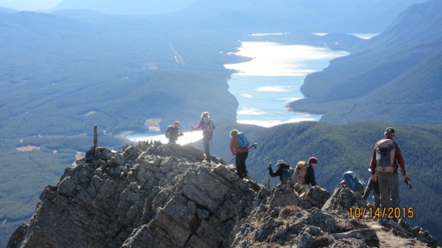 Ridge and Kananaskis Lakes