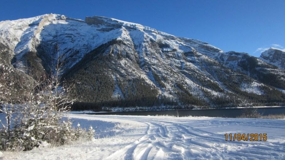 Trail at Three Sisters Dam