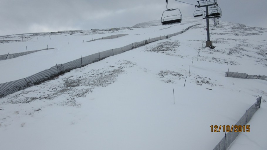 More snow farming needed on the upper slopes