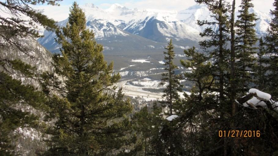 Hwy # 1 & Mt Inglismaldie Mt Girouard