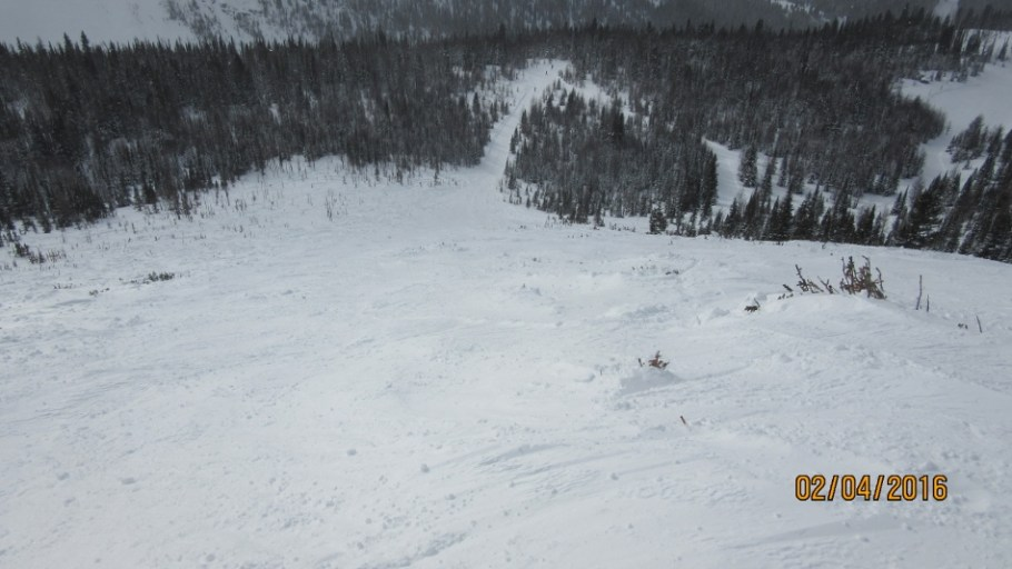 South Side Chute two days later