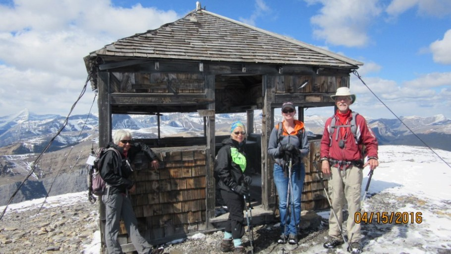 Lorraine George Amy And Lee at the Fire Lookout