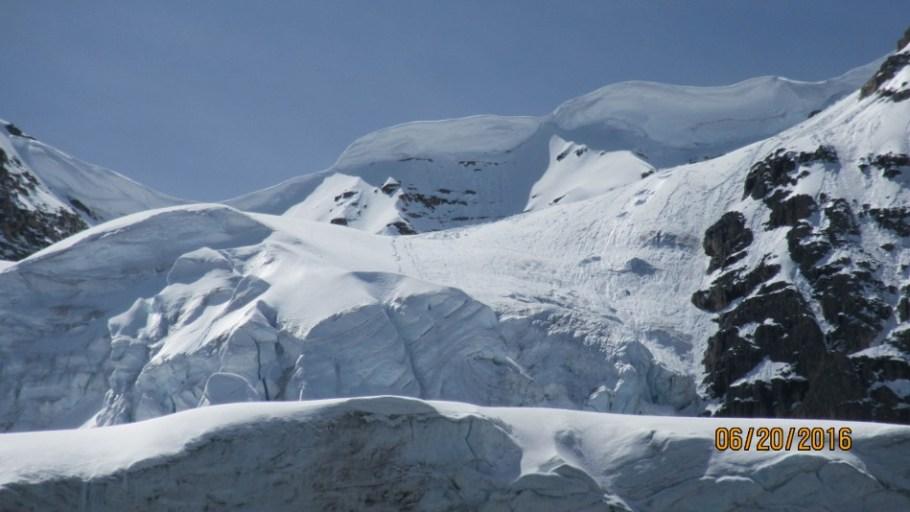 Big Cornice above Stanley Glacier