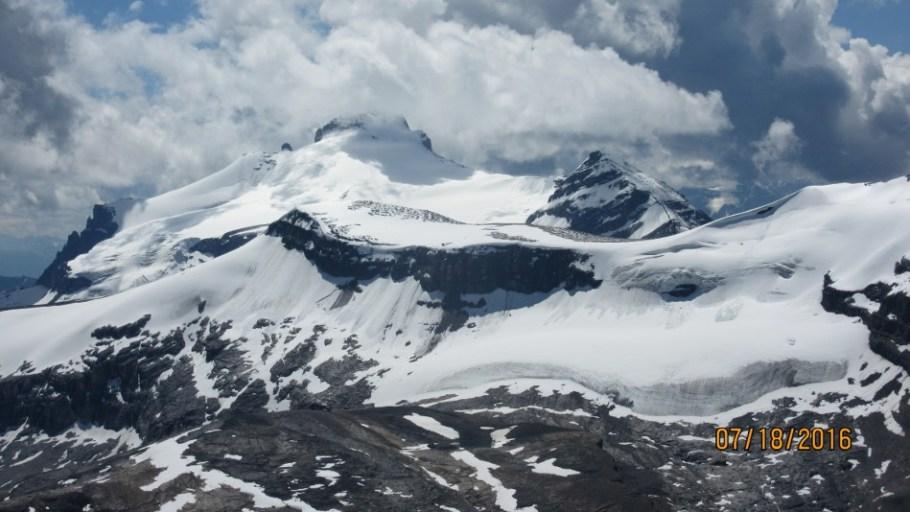 Mt Hector and Molar Glacier