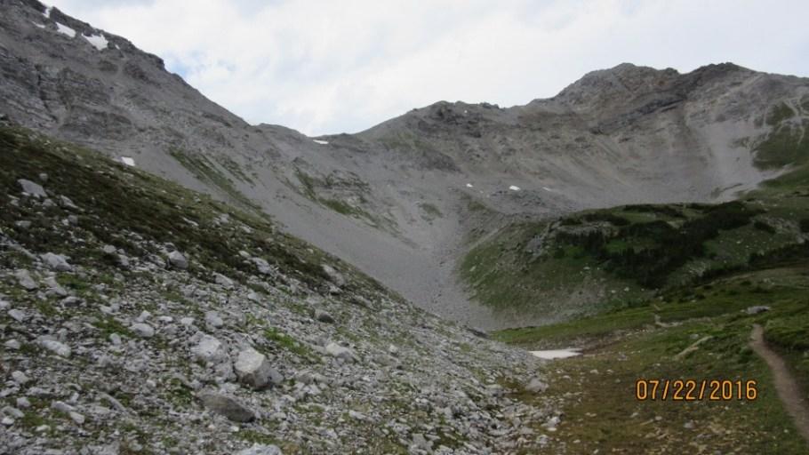 Closer to South Buller Pass