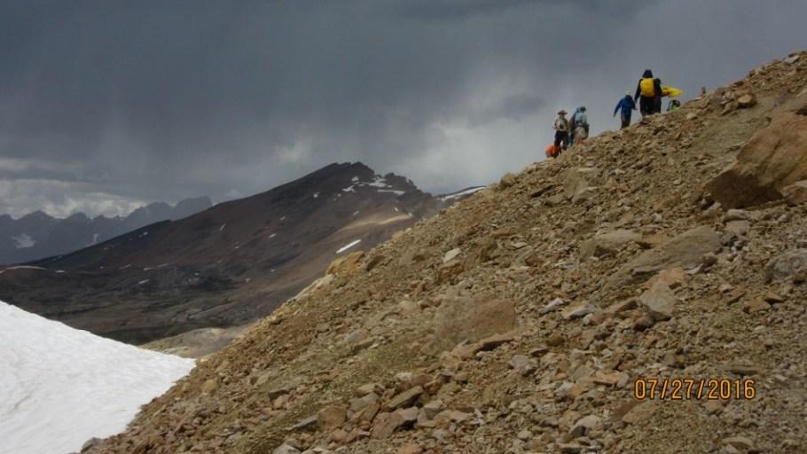 Th egroup at N.Molar Pass