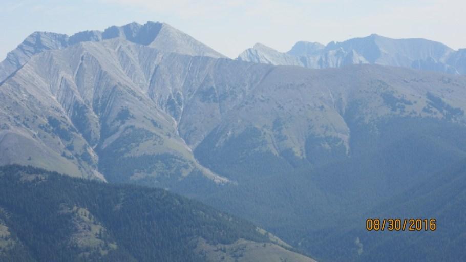 Lineham Ridge taken from Odlum Ridge
