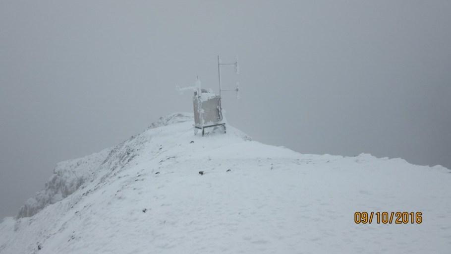 Weather station Summit Mt Sparrowhawk