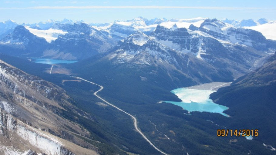 Bow & Peyto Lakes