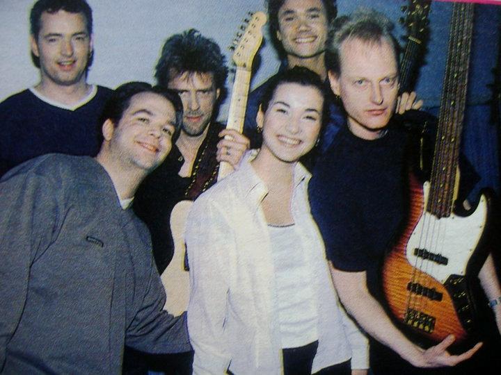 002 1999 Birgit. vlnr Rick Duyn, Coen Molenaar, Birgit, Xander Hoogendoorn, Michael Peet.
