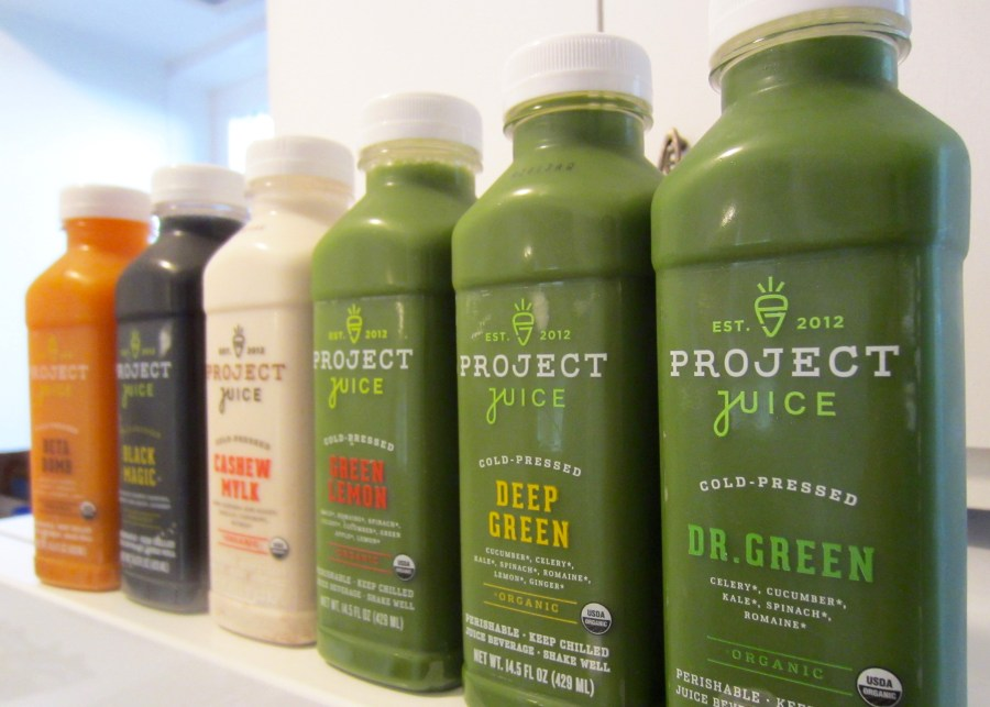 Closing out 2015 with a Project Juice Cleanse
