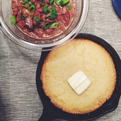 Southern Skillet Cornbread – No sugar, no flour