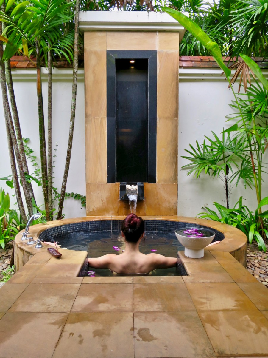 Banyan Tree Phuket - Outdoor bath