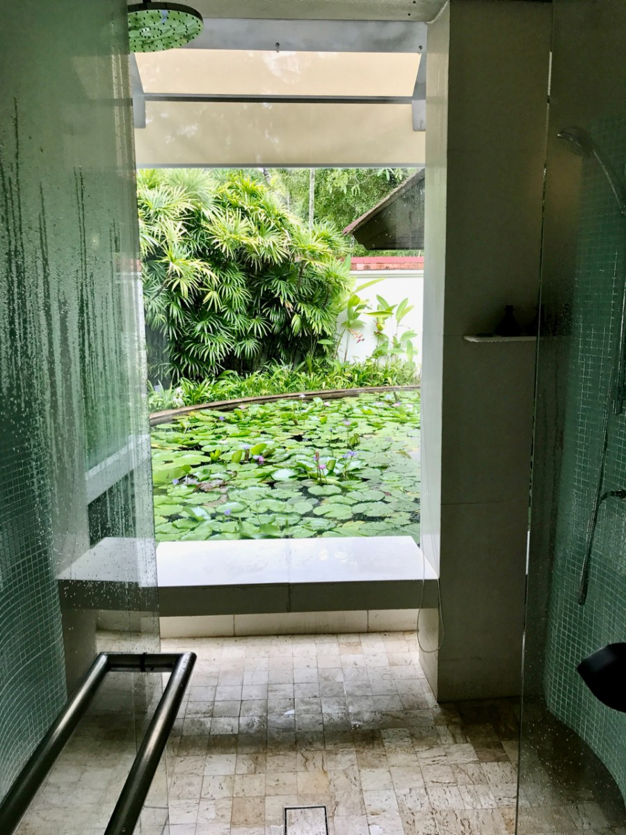 Banyan Tree Phuket - The shower and steam room in one