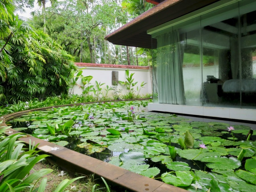 Banyan Tree Phuket - View of bedroom from outside