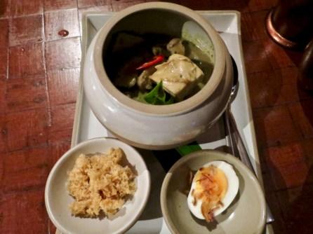 Banyan Tree Phuket - Saffron Restaurant - Green curry chicken