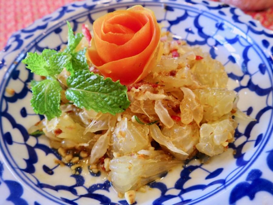 Sompong Thai - Pomelo salad (Yum Som Aoo)