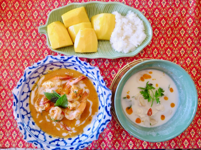 Sompong Thai Cooking School - My cooking class creations!