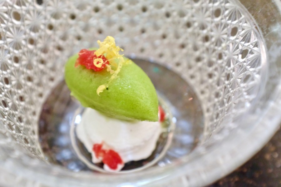 Pineapple & Pearls - Fennel Sorbet