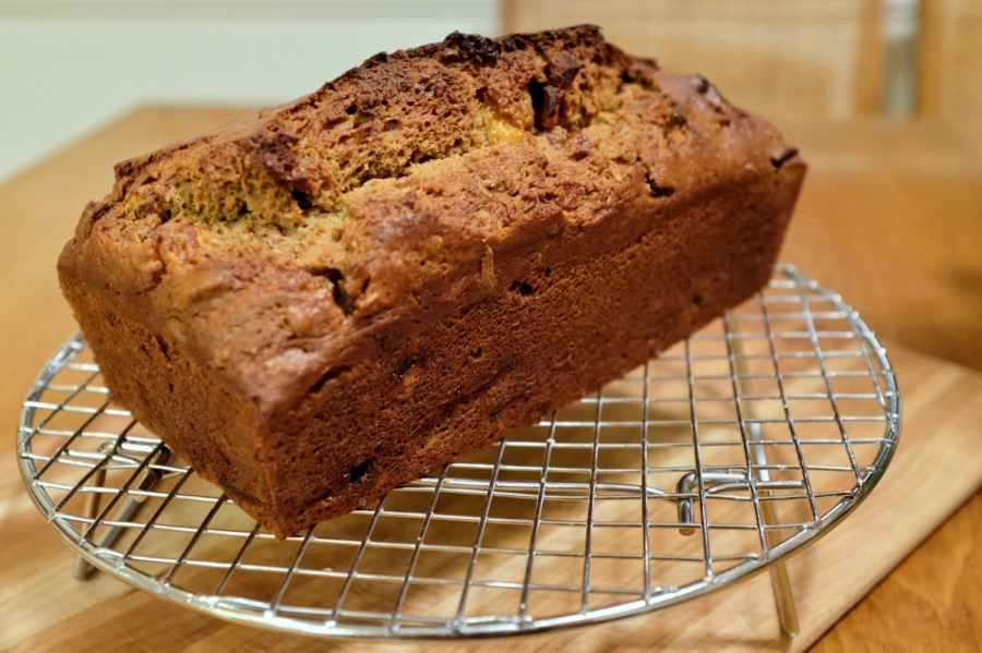 Delicious Persimmon Bread Loaf