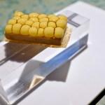 Disfrutar - Multi spherical tatin of foie gras and corn