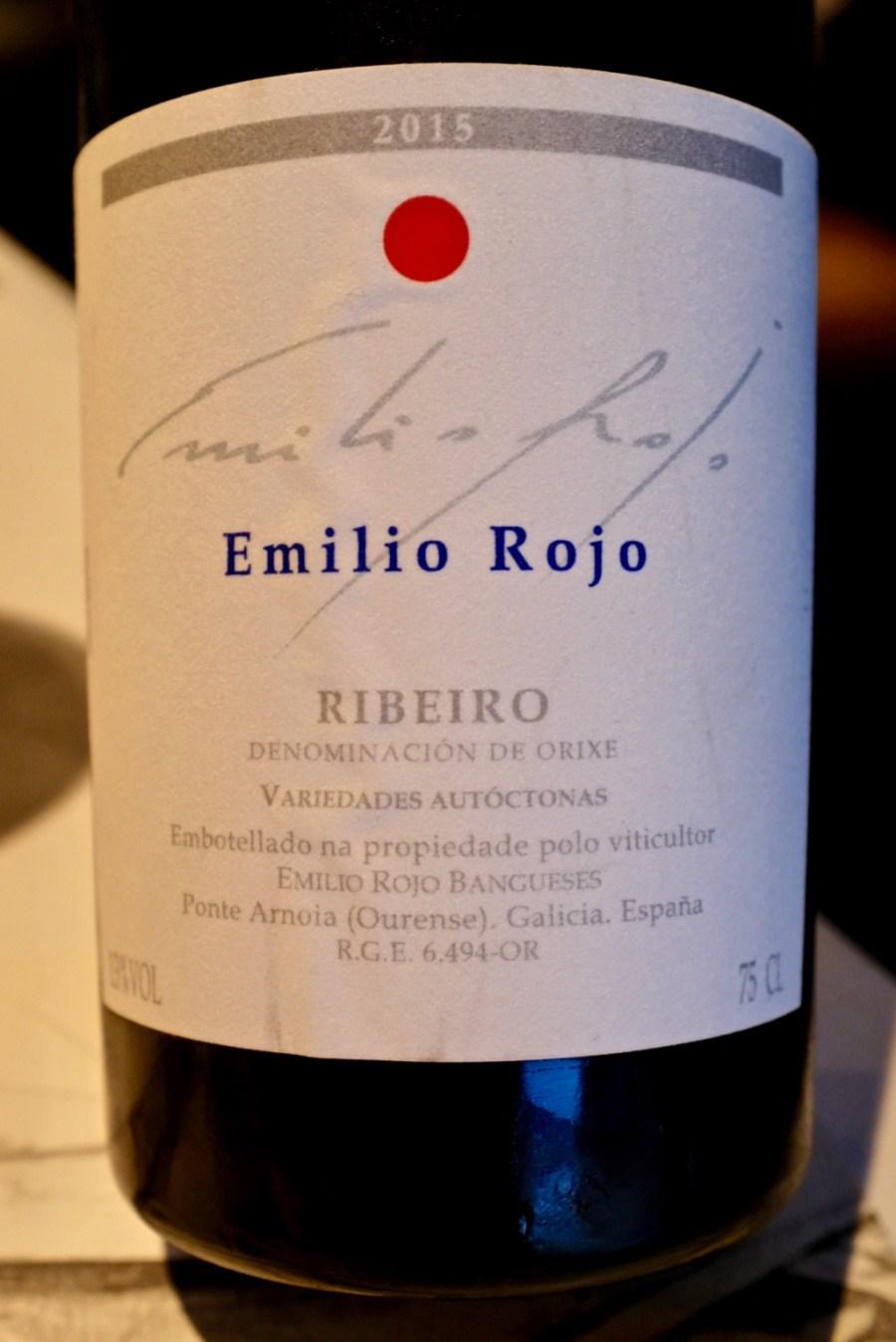 Arzak - Emilio Rojo, Ribeiro 2015, Galicia, Spain