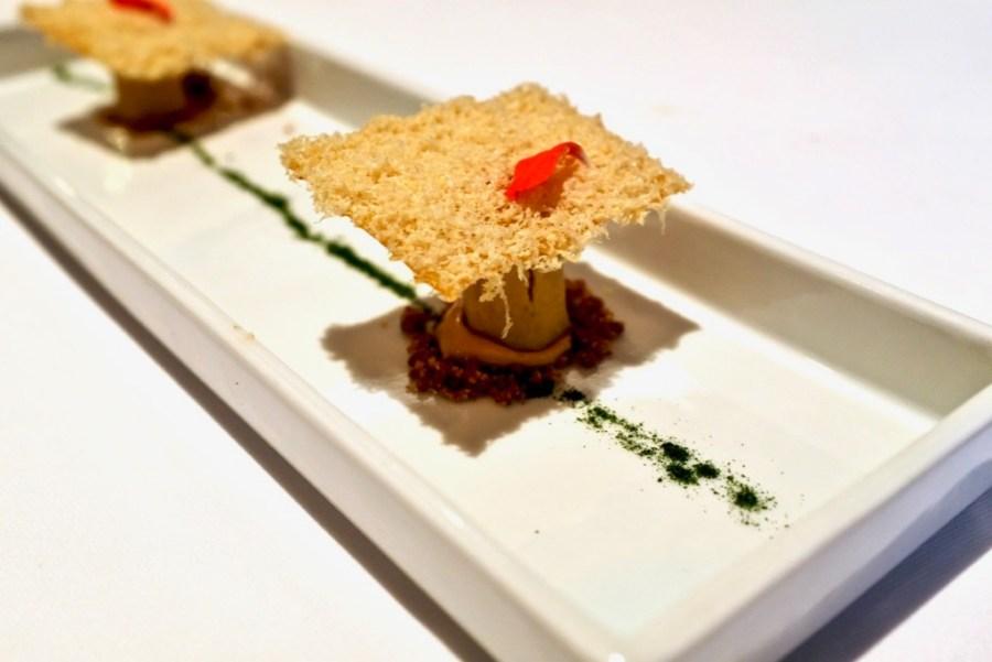 "Arzak - ""Maseca"" Corn Chip, Foie base"