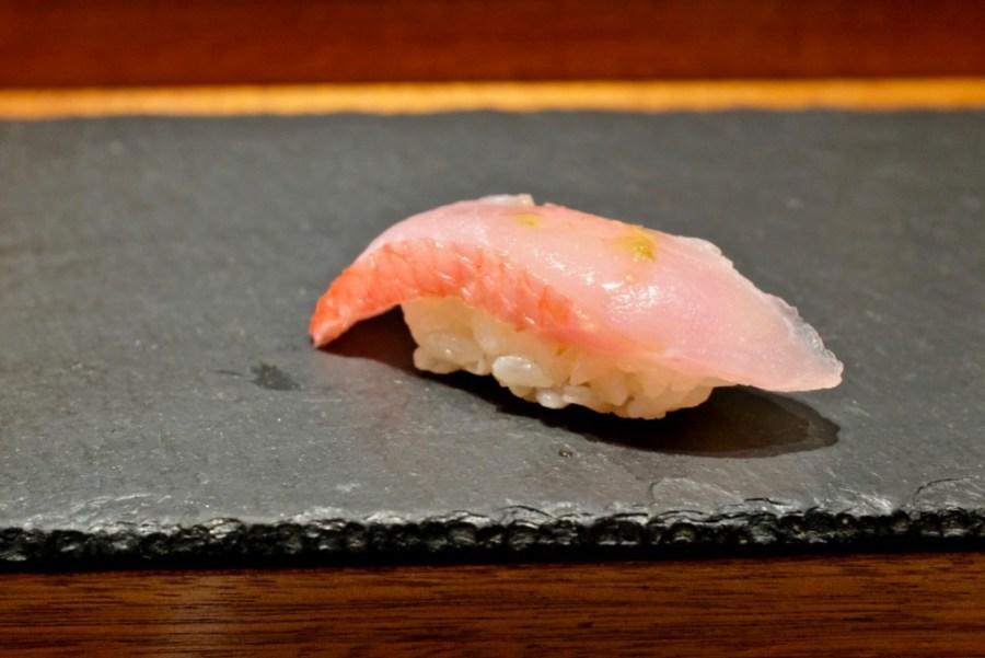 Kame Omakase - Premium Red Snapper, yuzu