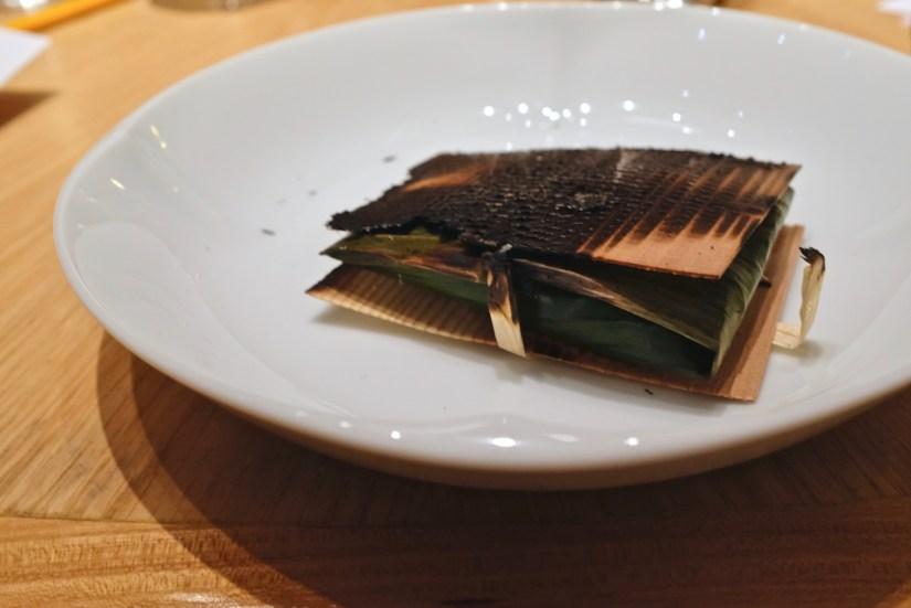 Gaggan at Eight Tables - Cutlass Fish Paturi