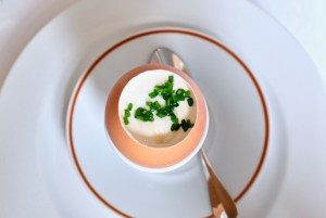 Arpege - Hot Yolk and Cold Cream, chives