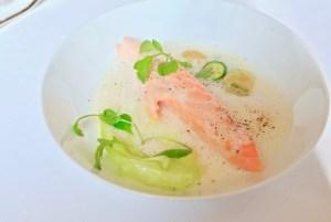 Arpege - Salmon supplement, lemon butter