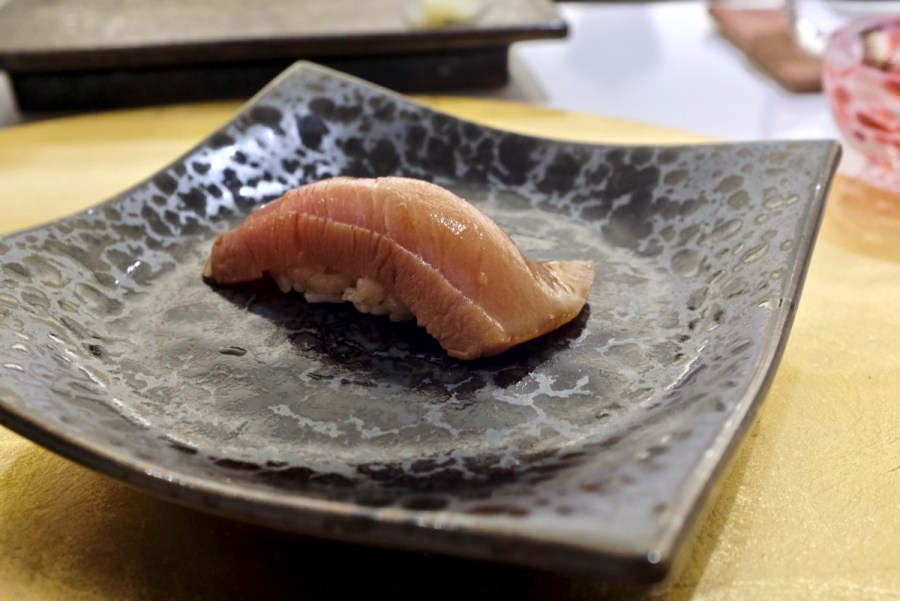 The Shota - Honmaguro Otoro - seared bluefin tuna belly
