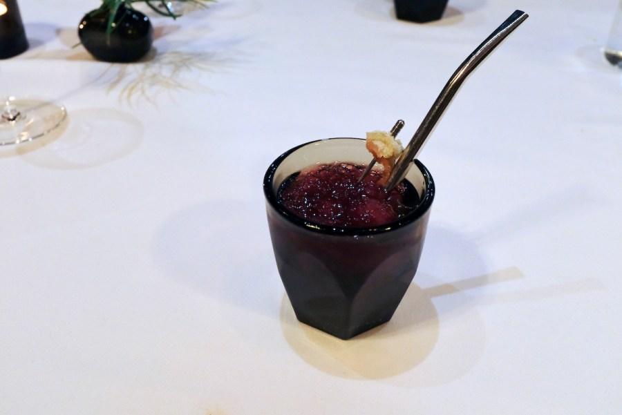 Californios - Disgestivo - pomengranate, lime, vermut lustau rojo