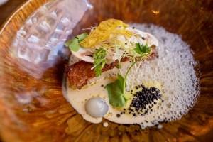 Daalder - Turbot, razor clam, mustard, tarragon, lemon