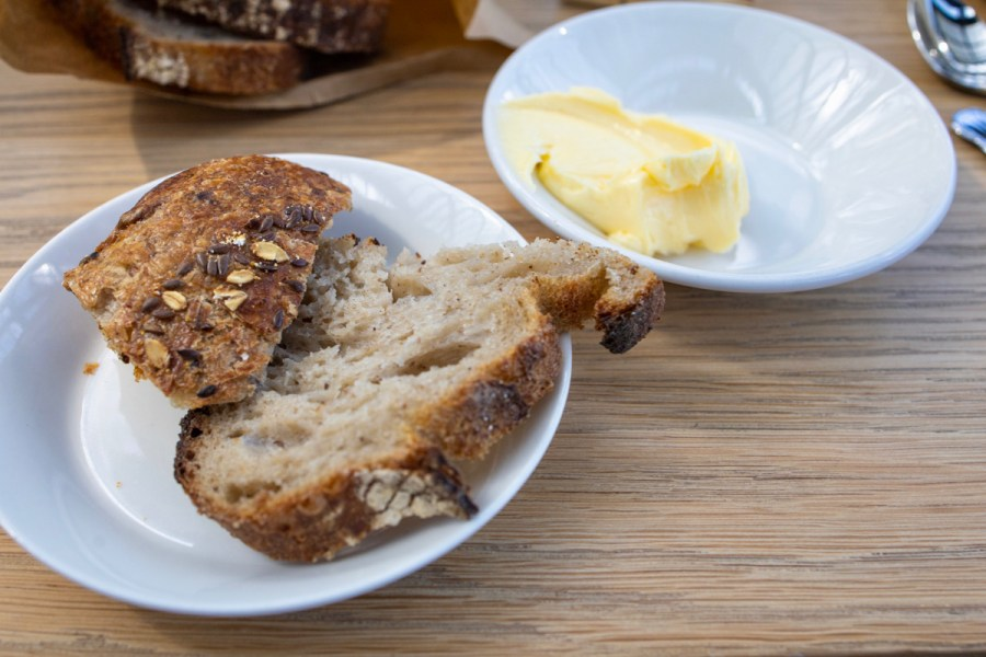 De Kas - Bread and butter