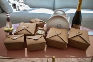 Atelier Crenn Takeout - Takeout boxes
